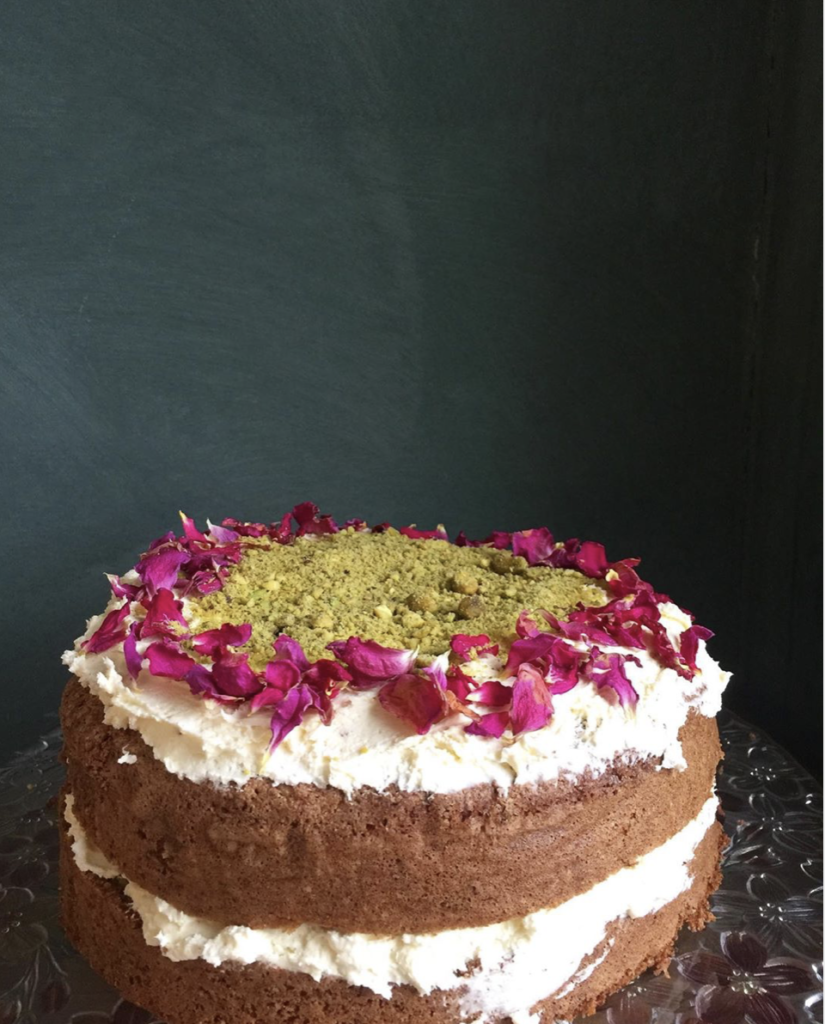 Berrima General Store and Cafe's Elaborate Carrot Cake! for Mother's Day.